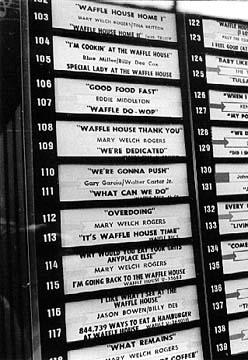 Untitled document for Waffle house classic jukebox favorites