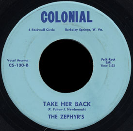 Zephyrs, The - The Love That Will Guide You Back Home
